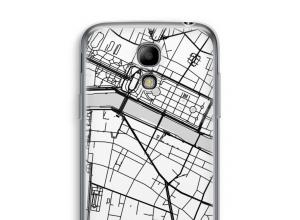 Pon un mapa de ciudad en tu funda para Galaxy S4 mini