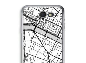 Pon un mapa de ciudad en tu funda para Galaxy J7 Prime (2017)