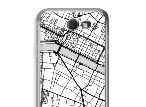 Pon un mapa de ciudad en tu funda para Galaxy J5 Prime (2017)