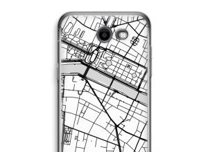 Pon un mapa de ciudad en tu funda para Galaxy J3 Prime (2017)