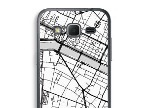 Pon un mapa de ciudad en tu funda para Galaxy Core Prime
