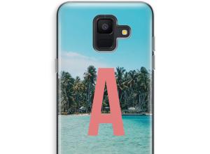 Diseña tu propia funda monograma para Galaxy A6 (2018)
