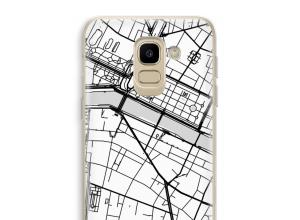 Pon un mapa de ciudad en tu funda para Galaxy J6 (2018)