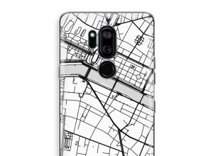 Pon un mapa de ciudad en tu funda para G7 Thinq