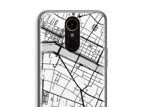 Pon un mapa de ciudad en tu funda para K10 (2018)