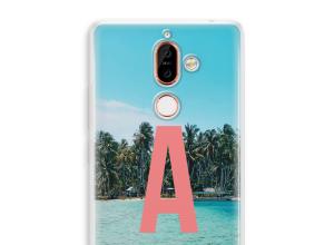 Diseña tu propia funda monograma para Nokia 7 Plus