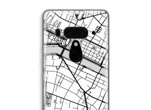 Pon un mapa de ciudad en tu funda para U12+
