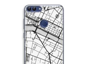Pon un mapa de ciudad en tu funda para P Smart (2018)