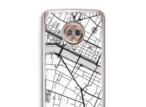 Pon un mapa de ciudad en tu funda para Moto G6