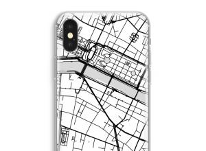 Pon un mapa de ciudad en tu funda para iPhone XS Max
