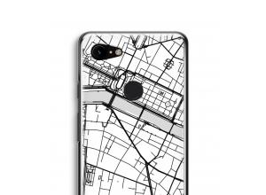 Pon un mapa de ciudad en tu funda para Pixel 3