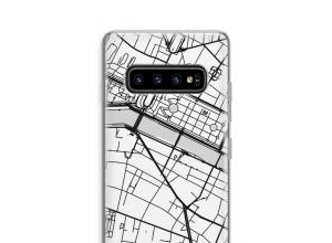 Pon un mapa de ciudad en tu funda para Galaxy S10 Plus
