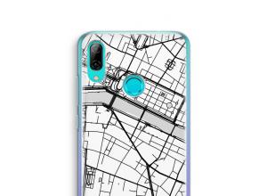 Pon un mapa de ciudad en tu funda para P Smart (2019)