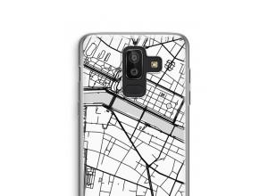 Pon un mapa de ciudad en tu funda para Galaxy J8 (2018)