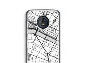 Pon un mapa de ciudad en tu funda para Moto G6 Play
