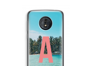 Diseña tu propia funda monograma para Moto G6 Play