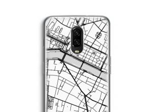 Pon un mapa de ciudad en tu funda para OnePlus 6T