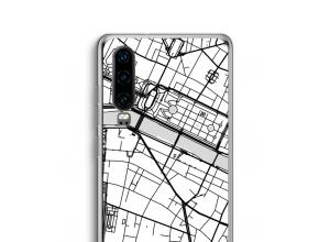 Pon un mapa de ciudad en tu funda para P30