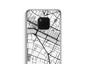 Pon un mapa de ciudad en tu funda para Mate 20 Pro