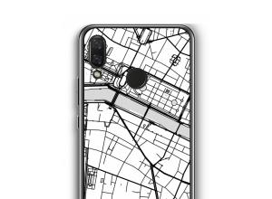Pon un mapa de ciudad en tu funda para Nova 3