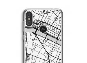 Pon un mapa de ciudad en tu funda para Moto One Power (P30 Note)