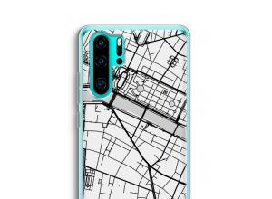 Pon un mapa de ciudad en tu funda para P30 Pro