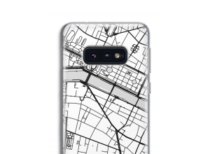 Pon un mapa de ciudad en tu funda para Galaxy S10e