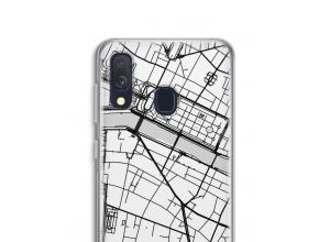 Pon un mapa de ciudad en tu funda para Galaxy A40