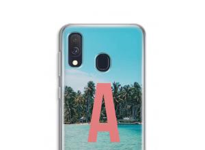 Diseña tu propia funda monograma para Galaxy A40