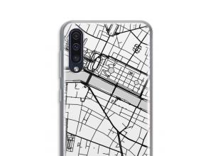 Pon un mapa de ciudad en tu funda para Galaxy A50