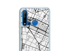 Pon un mapa de ciudad en tu funda para P20 Lite (2019)