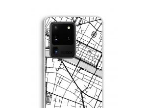 Pon un mapa de ciudad en tu funda para Galaxy S20 Ultra