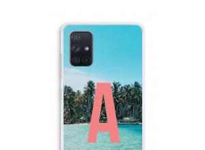 Diseña tu propia funda monograma para Galaxy A71
