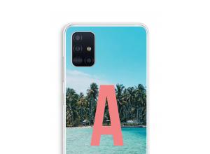 Diseña tu propia funda monograma para Galaxy A51