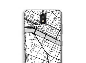 Pon un mapa de ciudad en tu funda para K30 (2019)