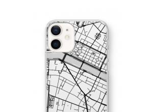 Pon un mapa de ciudad en tu funda para iPhone 12 mini