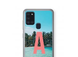 Diseña tu propia funda monograma para Galaxy A21s