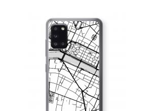 Pon un mapa de ciudad en tu funda para Galaxy A31