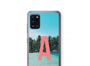 Diseña tu propia funda monograma para Galaxy A31