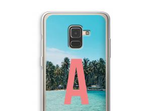 Diseña tu propia funda monograma para Galaxy A8 (2018)