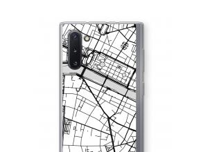 Pon un mapa de ciudad en tu funda para Galaxy Note 10