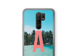 Diseña tu propia funda monograma para Xiaomi Redmi 9