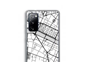 Pon un mapa de ciudad en tu funda para Galaxy S20 FE / S20 FE 5G