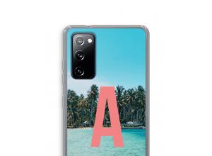 Diseña tu propia funda monograma para Galaxy S20 FE / S20 FE 5G