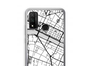 Pon un mapa de ciudad en tu funda para P Smart (2020)