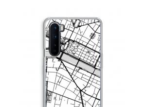 Pon un mapa de ciudad en tu funda para OnePlus Nord