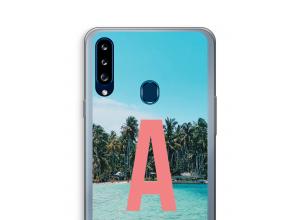Diseña tu propia funda monograma para Galaxy A20s