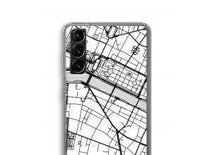 Pon un mapa de ciudad en tu funda para Galaxy S21 Plus