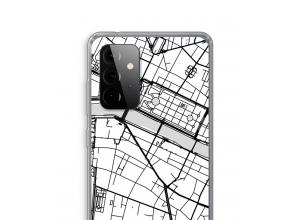Pon un mapa de ciudad en tu funda para Galaxy A72 5G