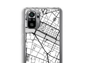 Pon un mapa de ciudad en tu funda para Xiaomi Redmi Note 10S